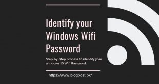 How to find the WiFi Password in Windows 10