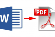 How to convert word document into PDF for beginners