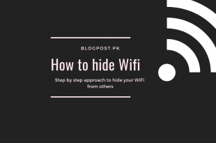 how to hide WiFi
