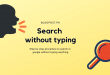 search without typing on google