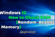 Windows 10 - How to Check RAM