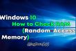 Windows 10 - How to Check RAM